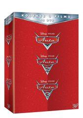 Kolekce AUTA 1.-3. (3DVD)   - DVD