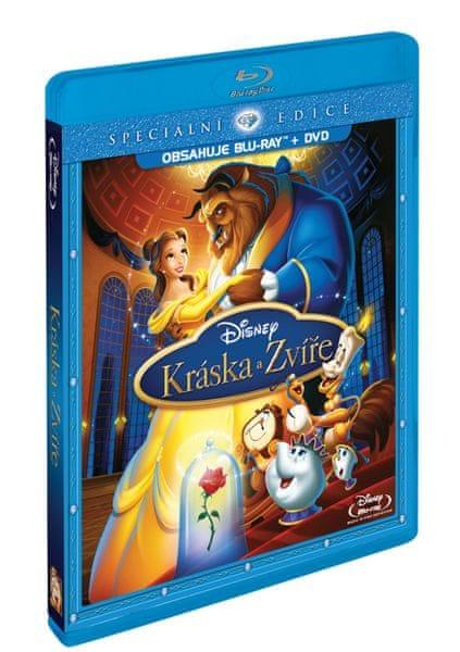 Kráska a zvíře BD+DVD (Combo Pack) (1991)