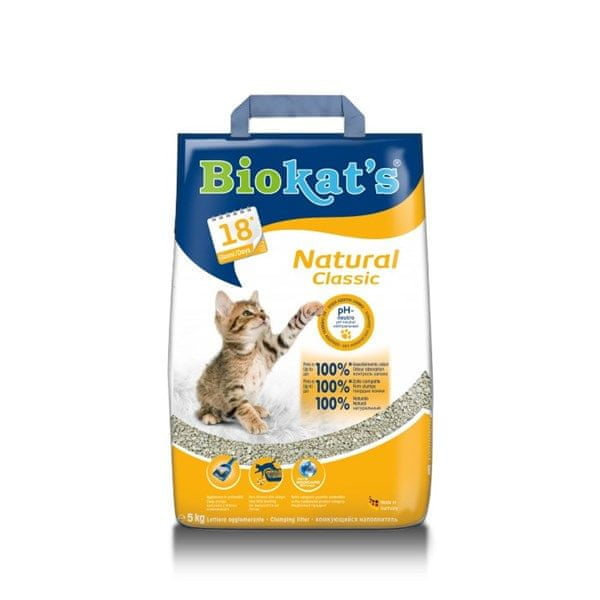 Gimpet Biokat's Natural Classic 5kg