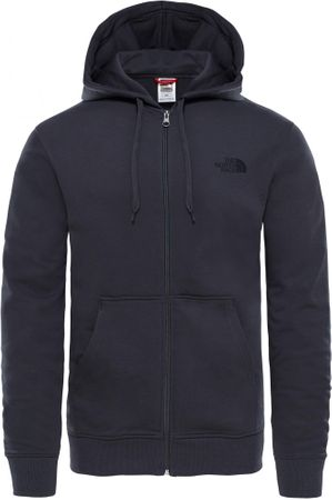 The North Face M Open Gate Fz Hood Light Asphalt Grey L