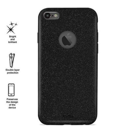 Puro ovitek za iPhone 6/6s Shine, črn