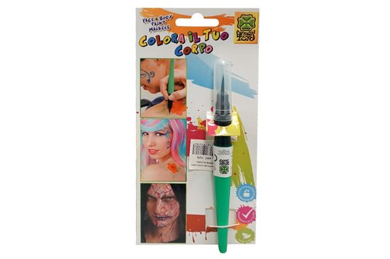Carnival Toys četka s bojom za lice, zelena (7376)