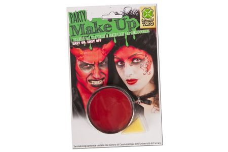Carnival Toys barva za obraz, rdeča, 10 g (7362)