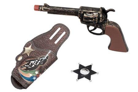 Unikatoy pištola Western set (25049)