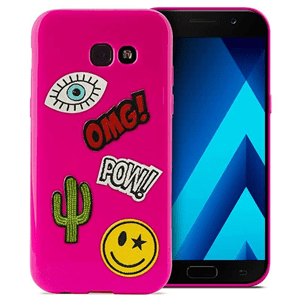 Puro ovitek Patch Mania za Galaxy A5 , roza