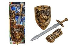 Unikatoy viteški set, sablja + ščit (25047)