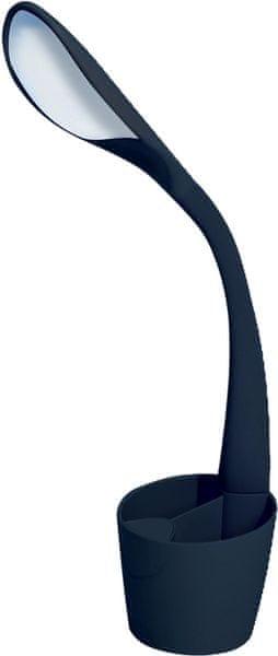Velamp SWAN stolní lampa 6 W LED černá