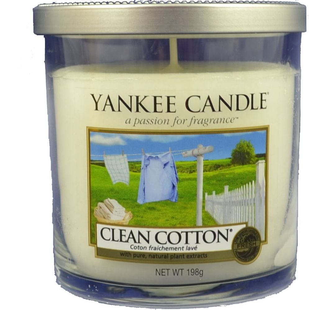 Yankee Candle Clean Cotton Décor malý 198 g