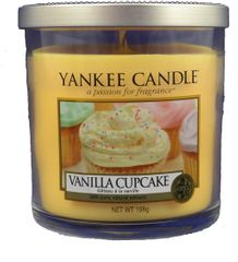 Yankee Candle Vanilla Cupcake Décor malý 198 g