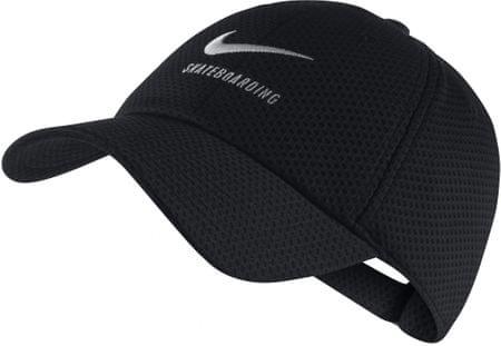 Nike kapa U NK H86 Swoosh SB Mesh, črna/bela