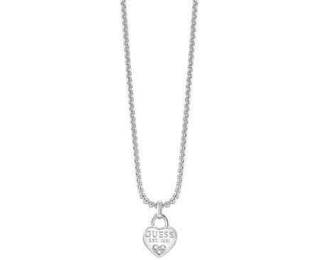 Guess Srdíčkový náhrdelník UBN82094