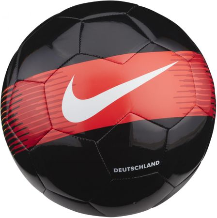 Nike piłka do piłki nożnej GER NK SPRTS Black Red Yellow White 5