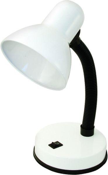 Velamp CHARLESTON Stolní lampa E27, bílá