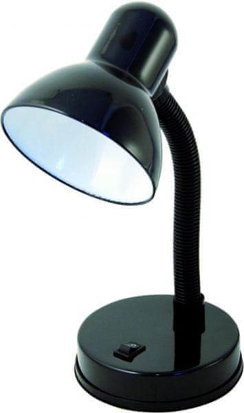 Velamp CHARLESTON Stolní lampa E27, černá
