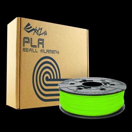 XYZ polnilo PLA, 600 g, neon zelena