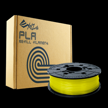XYZ polnilo PLA, 600 g, rumena