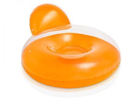 Intex Felfújható fotel Vizijáték, Narancssárga