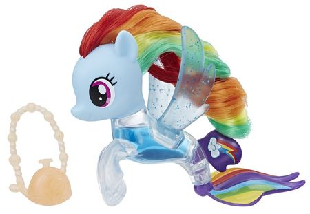 My Little Pony morski konjiček Rainbow Dash