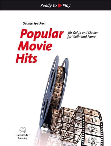 KN Popular Movie Hits for Violin and Piano Škola hry na housle