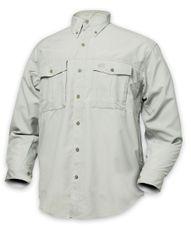 Geoff Anderson Košile Polybrush Cementová Dlouhý Rukáv