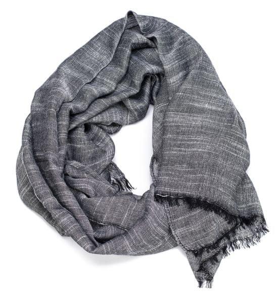 s.Oliver pánský černý šátek