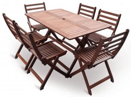 V-Garden Zahradní stůl VEGA set 1ks