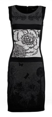 Desigual ženska obleka M črna