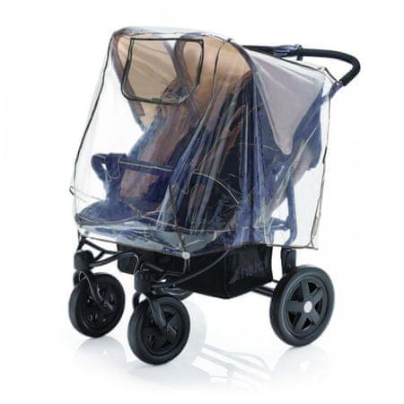 DIAGO Pláštenka na kočík pre dvojčatá vedľa seba