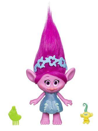 HASBRO figurki Trolls ze spinką do włosów - Poppy