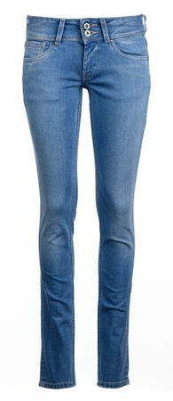 Pepe Jeans jeansy damskie Vera 25/32 niebieski