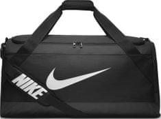 Nike Brasilia (Large) Training Duffel Bag Black White