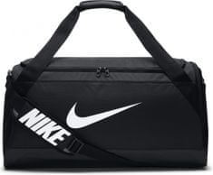 Nike Brasilia (Medium) Training Duffel Bag Black White