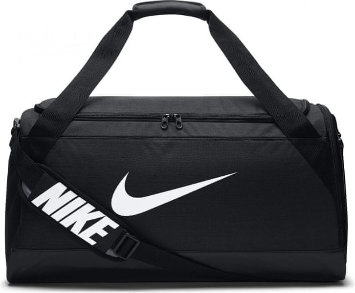 Nike Brasilia (Medium) Training Duffel Bag Black White 5c8768c5cfb