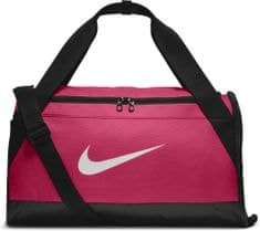 Nike Brasilia (Small) Training Duffel Bag Rush PiNK Black White