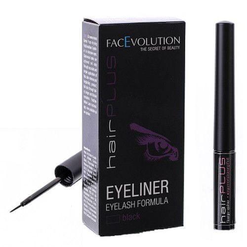 FacEvolution Vyživující tekuté oční linky (Eyeliner Eylash Formula) (Odstín Černé)
