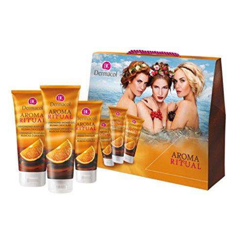 Dermacol Dárková sada tělové péče pro ženy Belgická čokoláda Aroma Ritual