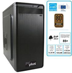 PCplus namizni računalnik Family G4600/4GB/SSD120GB/FreeDOS (136379)