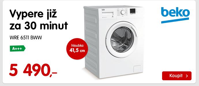 Pračka WRE 6511 BWW