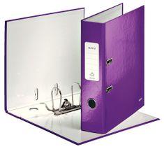 Leitz Pořadač pákový 180° WOW A4 7,5 cm purpurový