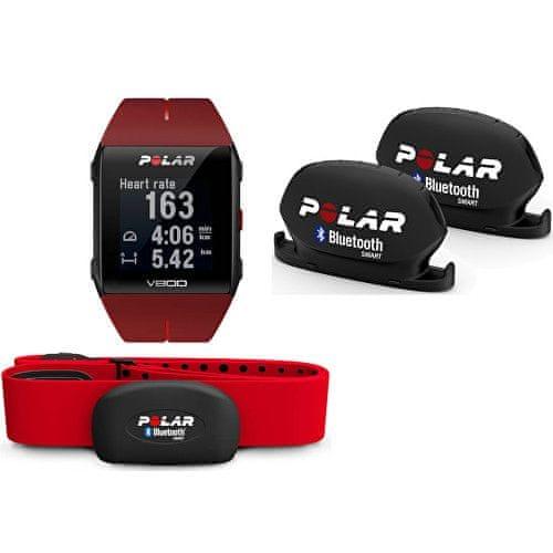 Polar V800 Combo - Polar V800 Red + snímač kadence