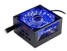 Inter-tech modularni napajalnik Argus RGB-750W CM, 80Plus Gold, ATX
