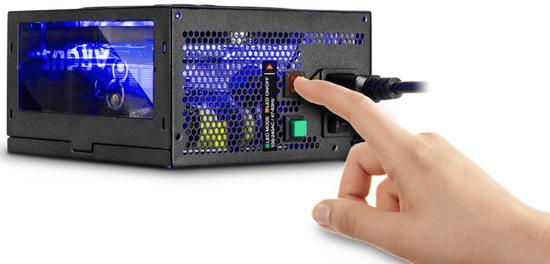 Inter-tech modularni napajalnik Argus RGB-650W CM, 80Plus Gold, ATX