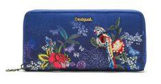 Desigual dámská tmavě modrá peněženka Mone Birdpalm Fiona