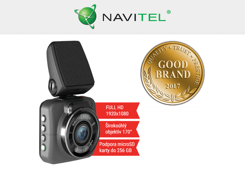 Navitel MSR700 - Full HD záznamová kamera