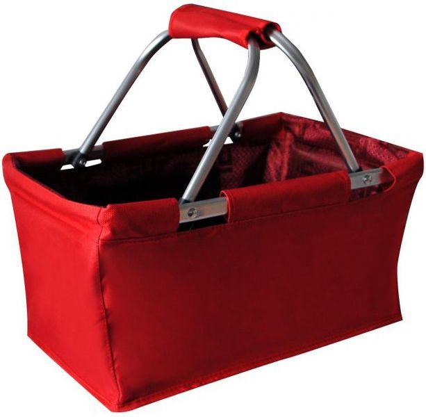 Toro Nákupní skládací košík, červená (263302)