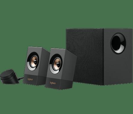 Logitech zvočniki Z537, 2.1, Bluetooth, 60W RMS, črni