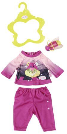 BABY born Pyžamo s baterkou růžová