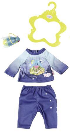 BABY born Pyžamo s baterkou modrá
