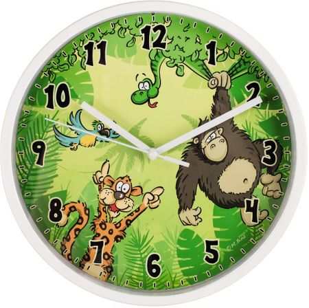 HAMA Zegar ścienny Jungle
