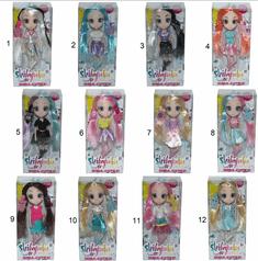 shibajuku mini doll, barbika, 15 cm